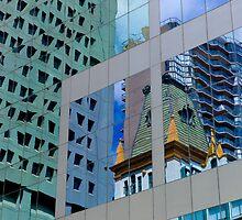 Office Windows by Robert Hoehne