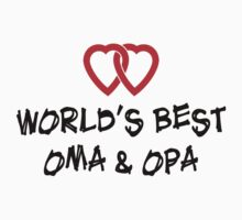 World's Best Oma & Opa Kids Clothes