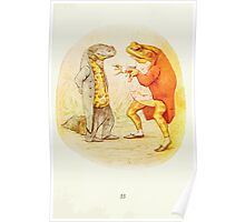 The Tale of Mister Jeremy Fisher Beatrix Botter 1906 0059 Sir Isaac Newton Newt Poster