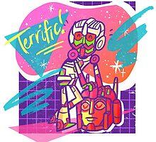 Retro Sticker Style Minimus by rachelurban