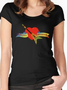 Tom Petty And The Heartbreakers Women's Fitted Scoop T-Shirt