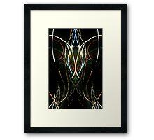 abstaktus 1 (the spirits) Framed Print