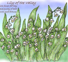 lily of the valley by artbyjehf