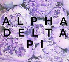 Alpha Delta Pi - Lilac flowers by kmizusak
