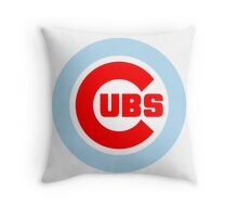 Chicago Cubs- Chicago Theme Throw Pillow