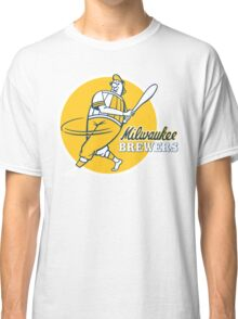 Retro Vintage Milwaukee Brewers Classic T-Shirt