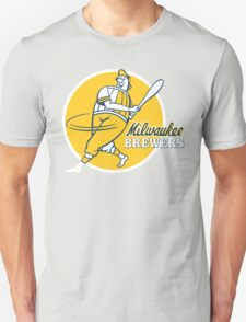 Retro Vintage Milwaukee Brewers Unisex T-Shirt