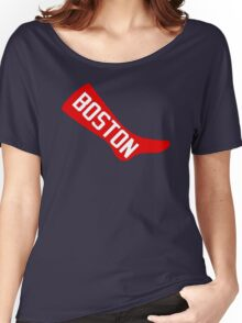 Boston Red Sox - Original 1908 Logo Women's Relaxed Fit T-Shirt