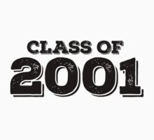 Class of 2001 Kids Clothes