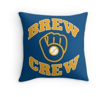 Milwaukee Brew Crew Throw Pillow