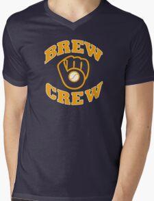 Milwaukee Brew Crew Mens V-Neck T-Shirt