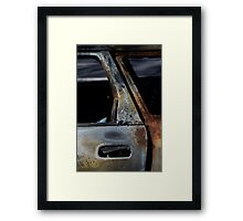 After The Fire, Rust 1. Framed Print
