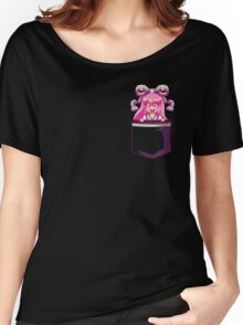 Over Obsessive Digital Pocket Girlfriend  Women's Relaxed Fit T-Shirt