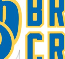 Milwaukee Brewers Brew Crew Sticker