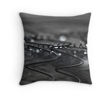 Wet Mattress Throw Pillow
