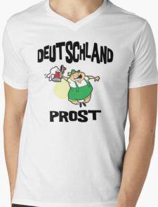 Deutschland Prost Mens V-Neck T-Shirt
