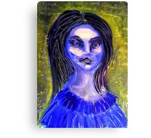 echo, once upon a time Canvas Print