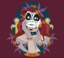 Dia de Los Muertos - Ariel by mcoraci