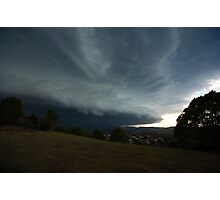 The Coming Storm, Terranora NSW Photographic Print