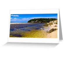 Wilson Inlet - Sand Bar Open Greeting Card