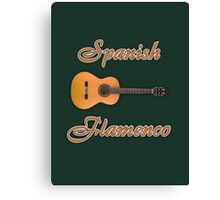 Spanish Flamenco Guitar Canvas Print