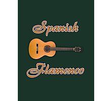 Spanish Flamenco Guitar Photographic Print