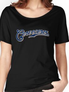 Milwaukee Brewers Cerveceros Women's Relaxed Fit T-Shirt