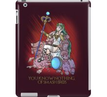 You know nothing of Smash Bros. iPad Case/Skin