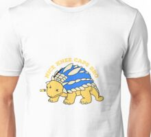 The gangster ankylosaurus regulates Unisex T-Shirt