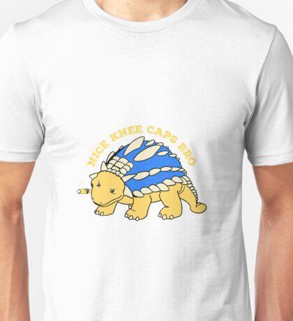 The gangster ankylosaurus regulates Unisex T-Shirt
