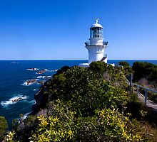 The light house at Seal Rocks by Peter Doré