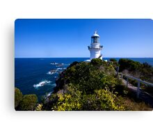 The light house at Seal Rocks Canvas Print