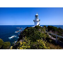 The light house at Seal Rocks Photographic Print