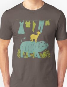 Humphrey the Hippo and the Cameroon Mountain Goat T-Shirt