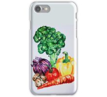 Vegetables Watercolour Artwork iPhone Case/Skin