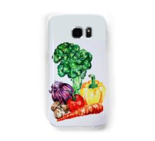 Vegetables Watercolour Artwork Samsung Galaxy Case/Skin