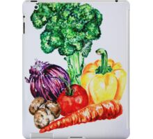 Vegetables Watercolour Artwork iPad Case/Skin