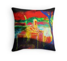 waiting for the end of the world Throw Pillow