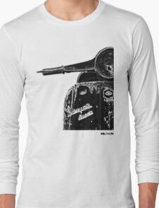 Vespa Super 1960 Piaggio front black Long Sleeve T-Shirt