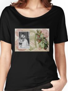 Steampunk Victorian Floral Corset Women's Relaxed Fit T-Shirt