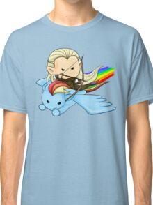 Legolas & Rainbow Dash Classic T-Shirt