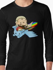 Legolas & Rainbow Dash Long Sleeve T-Shirt
