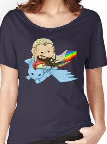 Legolas & Rainbow Dash Women's Relaxed Fit T-Shirt