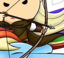 Legolas & Rainbow Dash Sticker