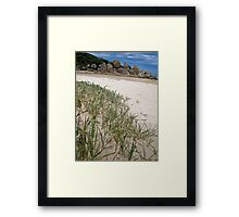 dunescape Framed Print