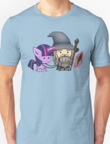 Gandalf the grey & Twilight Sparkle Unisex T-Shirt
