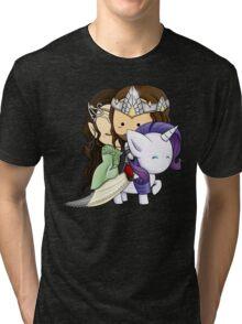 Aragorn, Arwen & Rarity Tri-blend T-Shirt