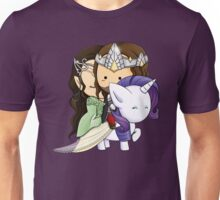 Aragorn, Arwen & Rarity Unisex T-Shirt
