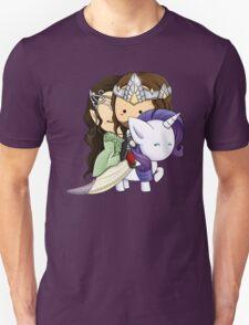 Aragorn, Arwen & Rarity T-Shirt