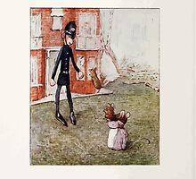 The Tale of Two Bad Mice Beatrix Potter 1904 0078 Policeman Doll or a Mouse Trap by wetdryvac